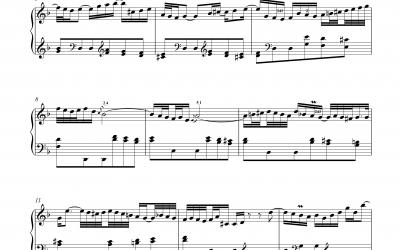 Andante BWV971 (Italienisches Konzert) Johann Sebastian Bach