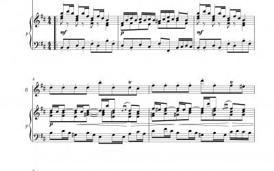 Badinerie (Johann Sebastian Bach)<h5>aus der Orchestersuite Nr. 2 H-Moll BWV1067 incl. Playback</h5>