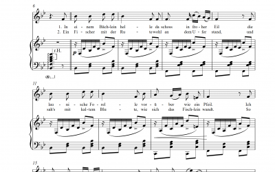 Playback Die Forelle (Franz Schubert/Daniel Schubart)