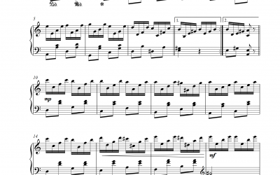 Etüde Op. 76 Nr. 2 Jean Sibelius