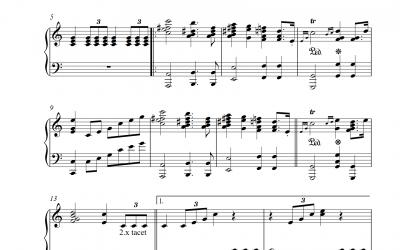 The Wedding March – Hochzeitsmarsch zu Shakespeares Sommernachtstraum (Felix Mendelssohn Bartholdy)