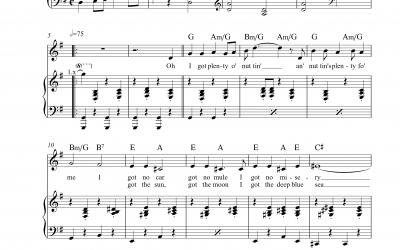 Playback I Got Plenty O' Nuttin' (George Gershwin)