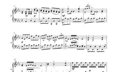 Klarinettenkonzert E<sup>&flat;</sup>-Dur 1. Satz (Jan Antonin Kozeluh)<h5>Noten und Playbacks</h5>