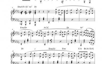 Thema Klavierkonzert Nr. 1 B♭m Op. 23 (Peter Iljitsch Tschaikowski)