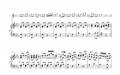 Karl Stamitz: Klarinettenkonzert Nr. 7 Rondo 3.Satz (Darmstädter Konzert)<h5>Noten und Playbacks</h5>