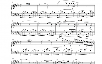 Nocturne Nr. 20 (Frederic Chopin)