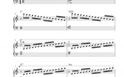 Schule der Geläufigkeit Op. 299 Nr. 1 (Carl Czerny)