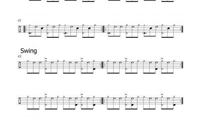 Styles Swing/Blues/Boogie (Triolen)