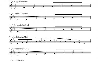 Tonleitern (basics)