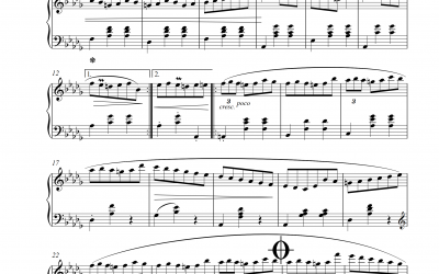 Trois Valses Op. 64 Nr. 1 (Frederic Chopin)
