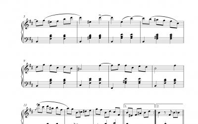 Walzer Op. 69 Nr. 2 (Frederic Chopin)