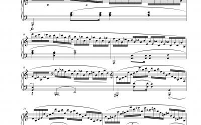 Etüde Op 25 Nr. 11 Winter Wind (Frederic Chopin)